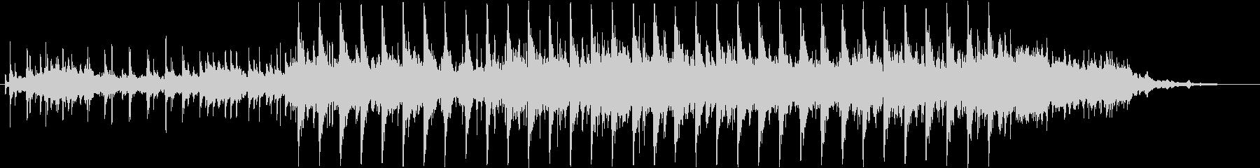 おしゃれ、ハイテクのリズム音楽 30sの未再生の波形
