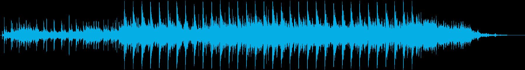 おしゃれ、ハイテクのリズム音楽 30sの再生済みの波形