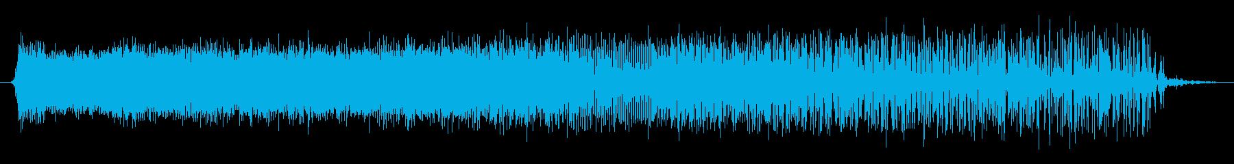 機械 ノイズクラックルドロップ03の再生済みの波形