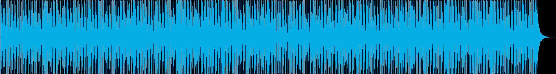 幸せ、夏、ウクレレの再生済みの波形