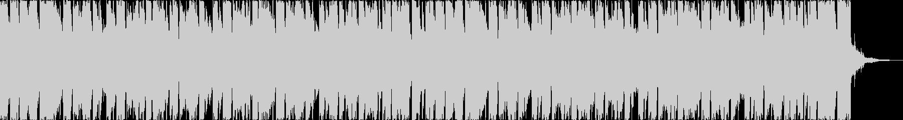 チルアウト軽快爽やかなトロピカルハウスgの未再生の波形