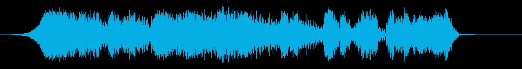 科学摩擦の再生済みの波形