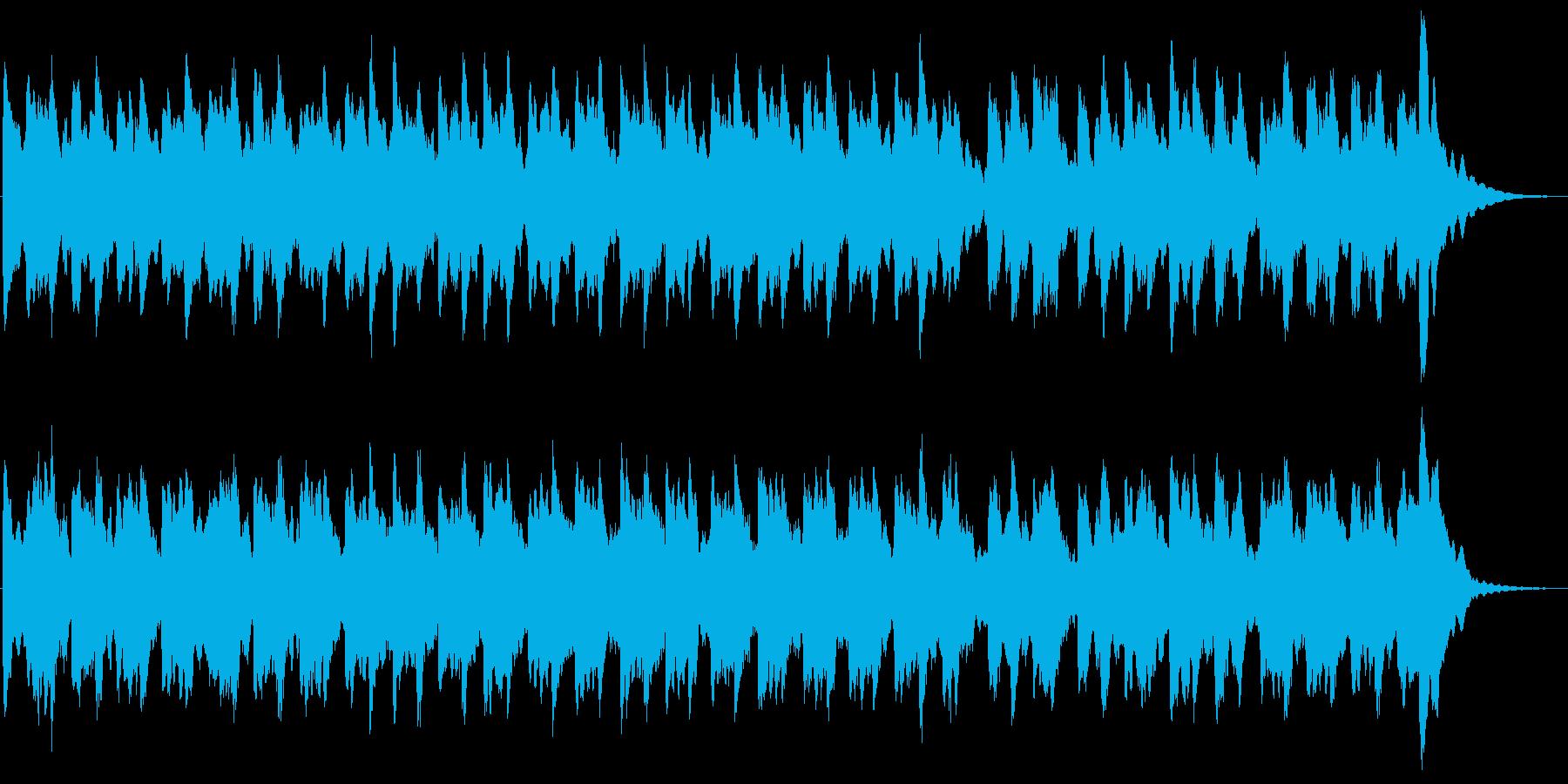 ビブラフォンの30秒キラキラチャイムの再生済みの波形