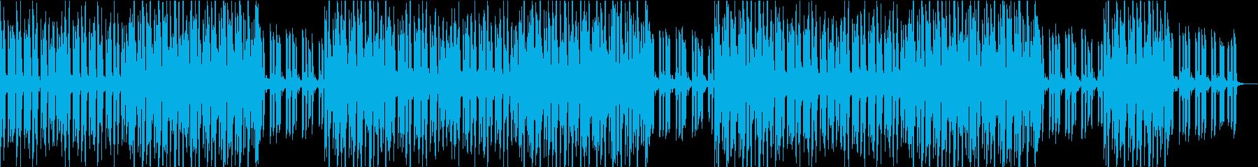 侵入、偵察、緊迫感がイメージのBGMの再生済みの波形