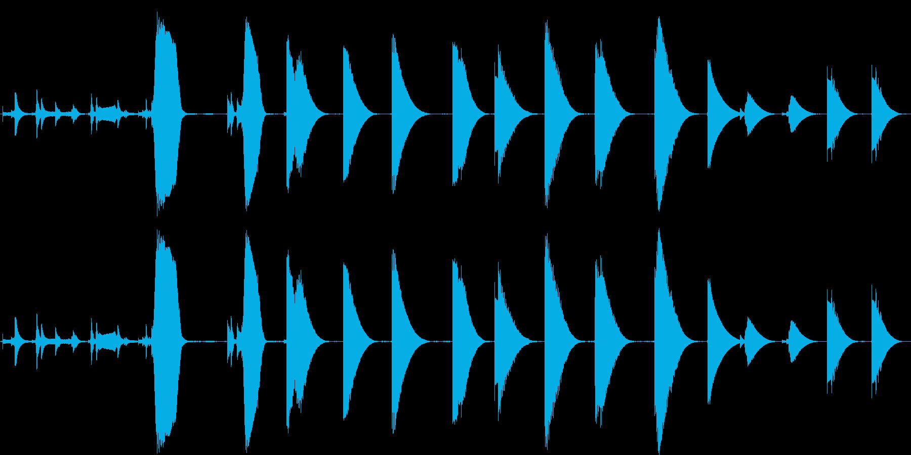 トーンザップレーザー各種の再生済みの波形
