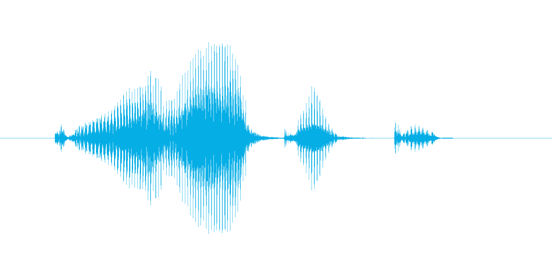 コーナーキックの再生済みの波形