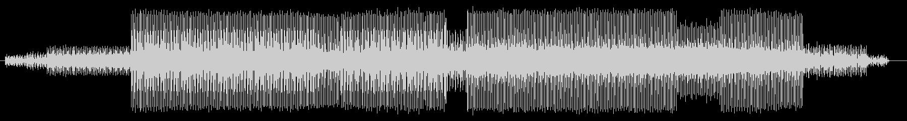 パッドサウンドがクールなテクノの未再生の波形
