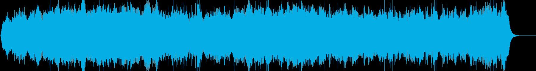 幻想的で奇妙なオーケストラアンビエントの再生済みの波形