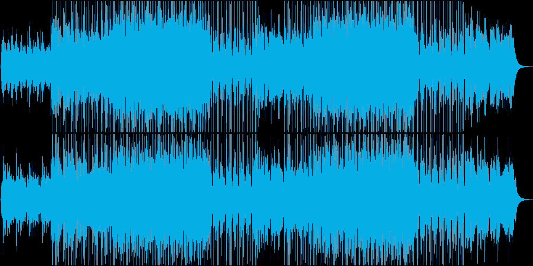 美しくきらきらとした繊細なメロディーの再生済みの波形