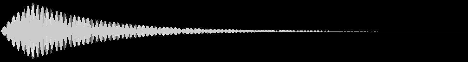 エレクトロ・ベル・ヒットの未再生の波形
