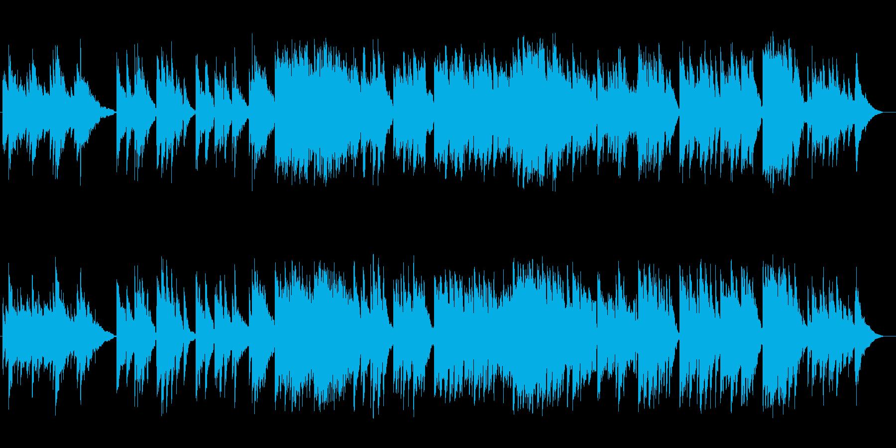 ゆったり美しいシンセ・ギターサウンドの再生済みの波形