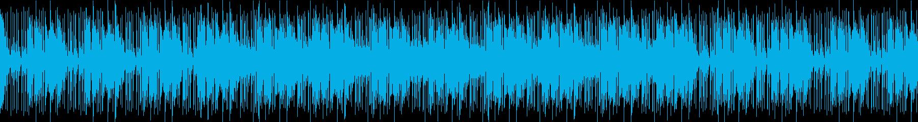 BPM93の民族系スローダウンテクノの再生済みの波形