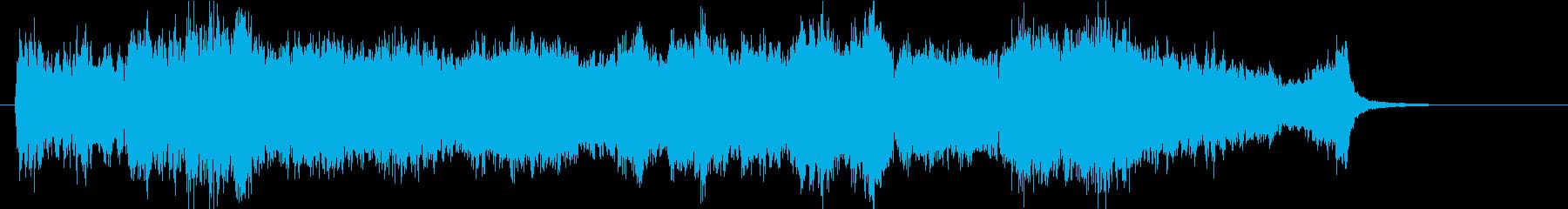 壮大、感動のオーケストラOPハーフdの再生済みの波形