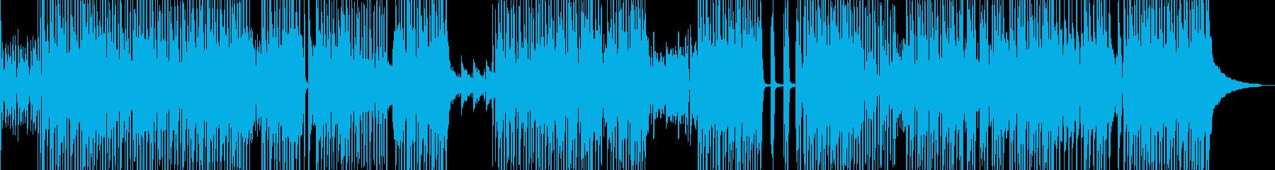 渋くてワイルドなヒップホップ 長尺の再生済みの波形