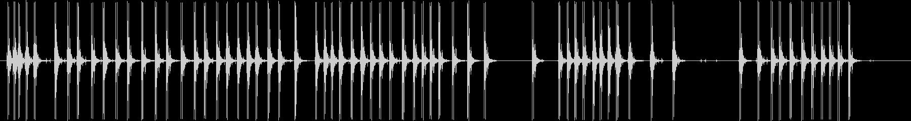 12ゲージショットガン:ローリング...の未再生の波形