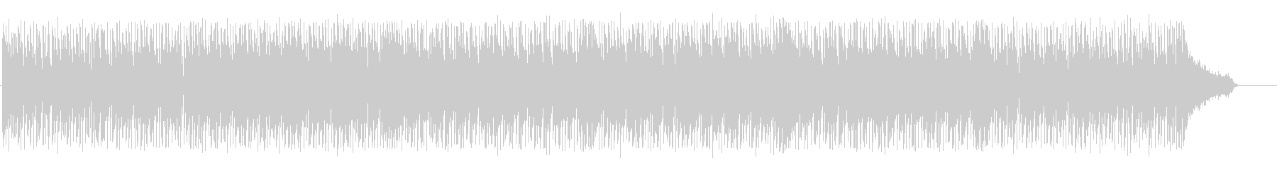 Bright rhythmic techno BGM's unreproduced waveform
