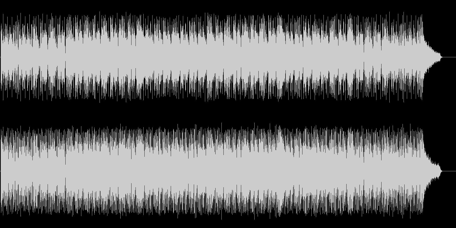 Bright rhythmic techno BGM's unreproduced waveform
