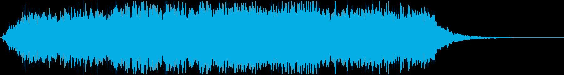 ゲーム:宿屋に泊まった音楽、クリア時の再生済みの波形