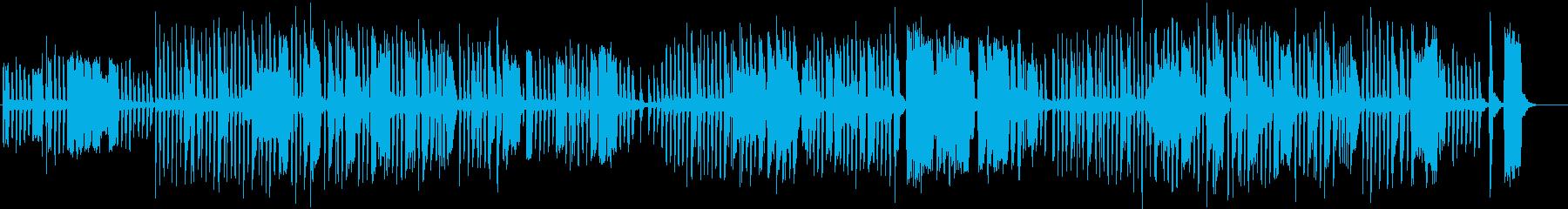 サクソフォンでコルネットで演奏され...の再生済みの波形