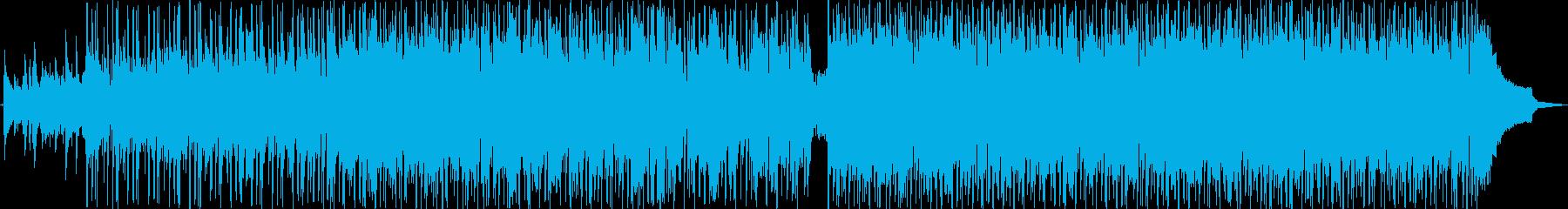 ヘヴィロック アクション 静か 楽...の再生済みの波形