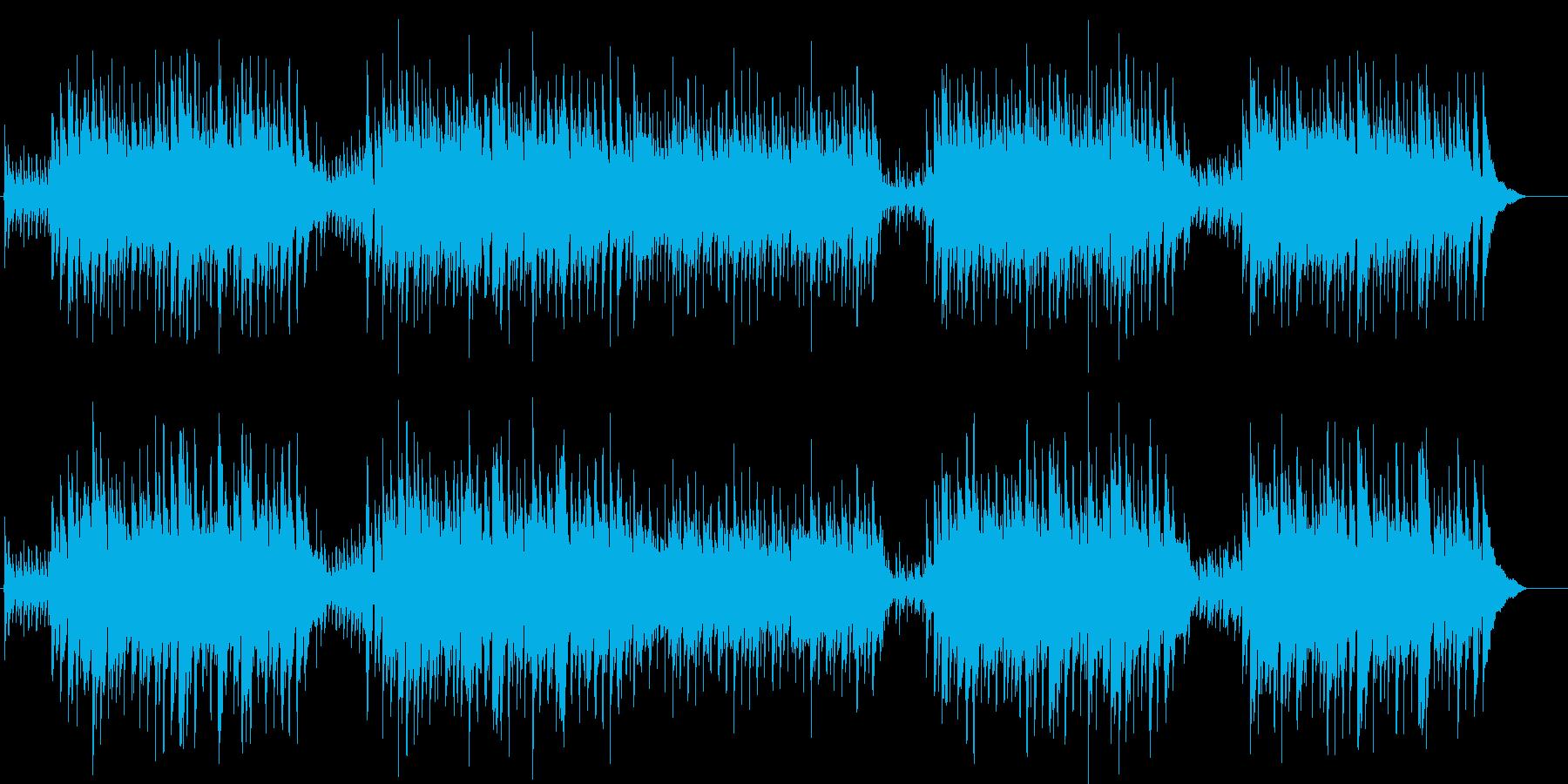 秋 大きな栗の木の下で アコギカントリーの再生済みの波形