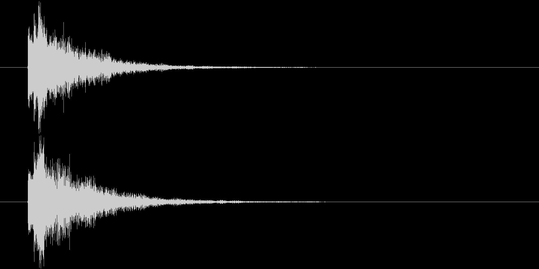 ポロロン①(スタート・テロップ・決定)の未再生の波形