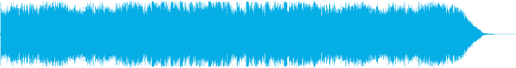 エンディング・おしゃれフューチャーベースの再生済みの波形