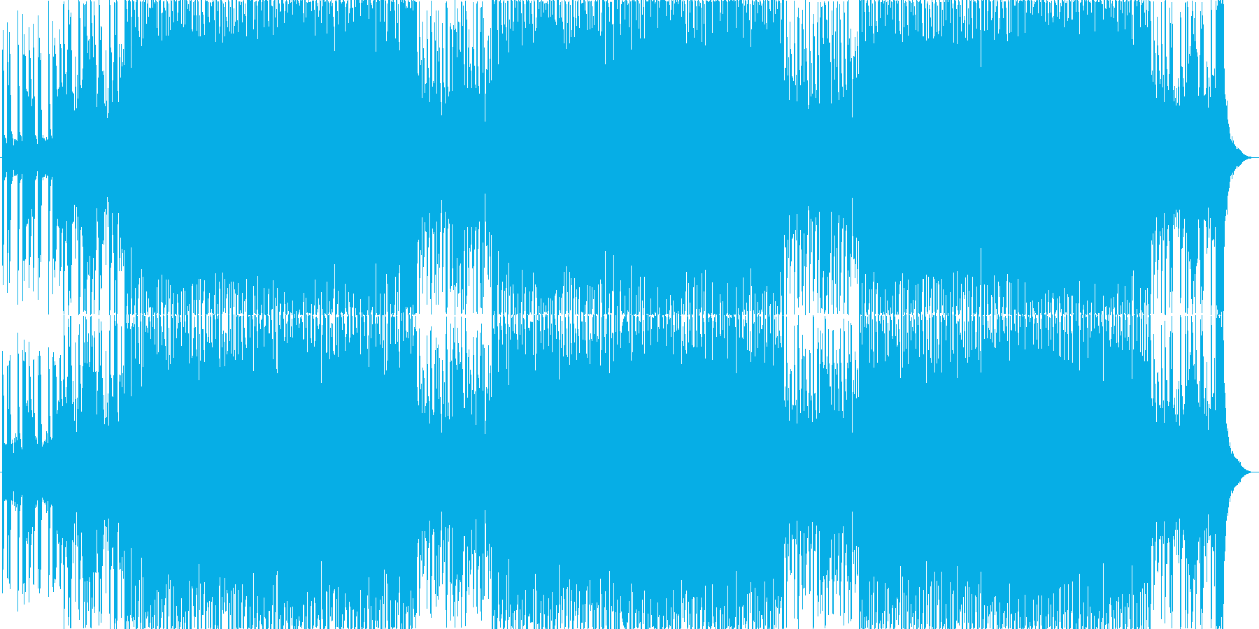 かわいいベルが主役うきうきポップな日常aの再生済みの波形
