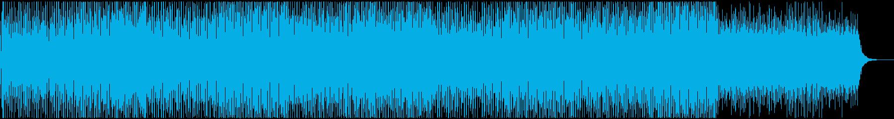 ボコーダーが心地よい都会的なテクノポップの再生済みの波形