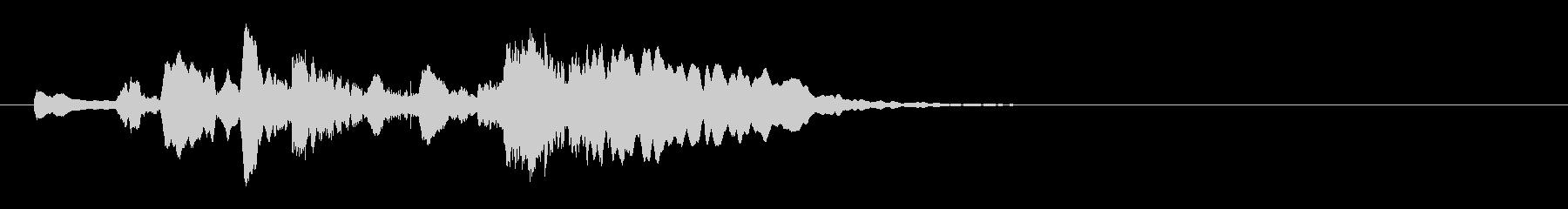 しっとりほのぼ口笛&ウクレレ5秒ジングルの未再生の波形