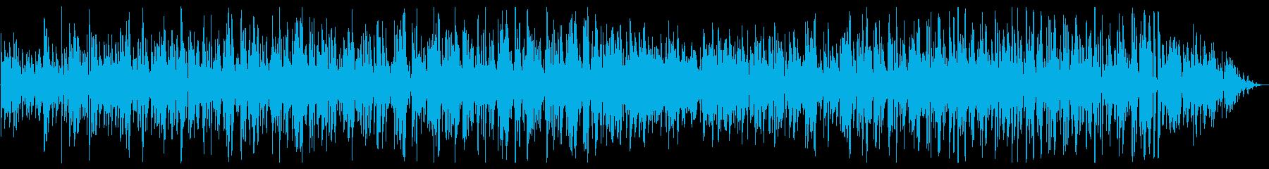 ジングルベルのボサノバジャズボーカルの再生済みの波形