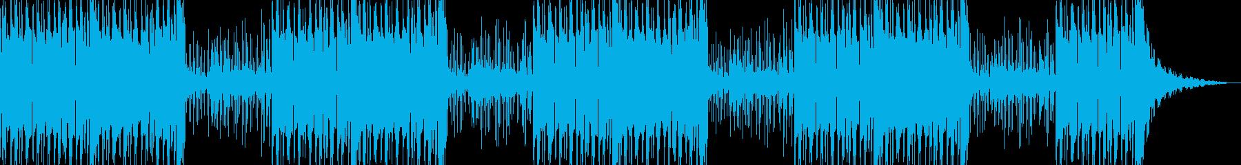 琴の伴奏なしの再生済みの波形