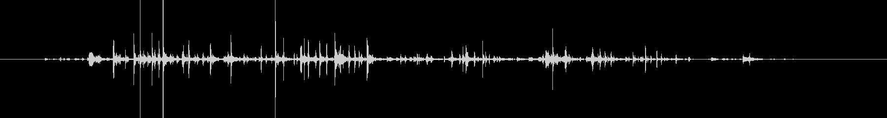 水音42の未再生の波形