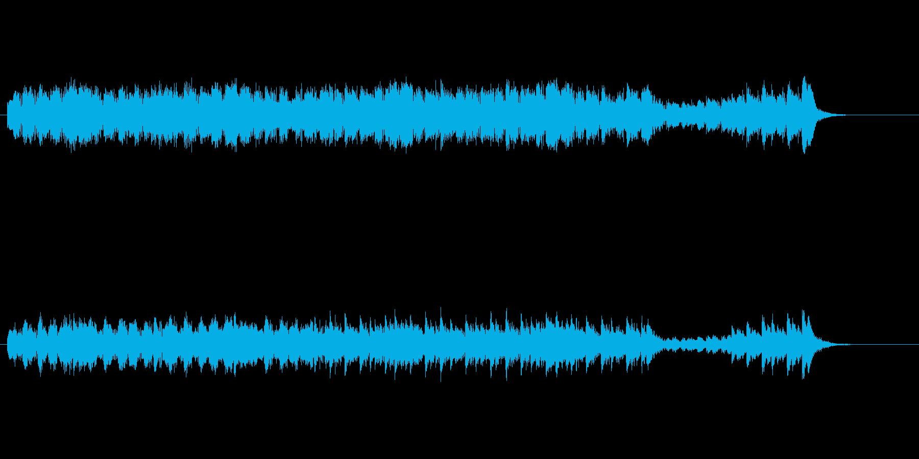 強い意志を感じるマリンバの再生済みの波形