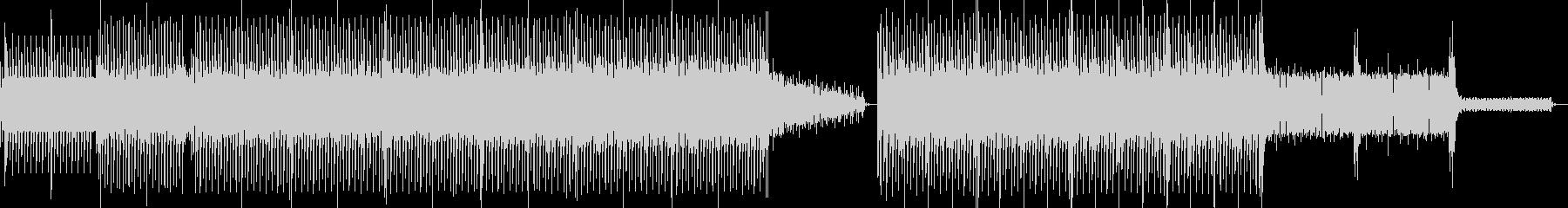 キックドラムとベースラインからカラ...の未再生の波形