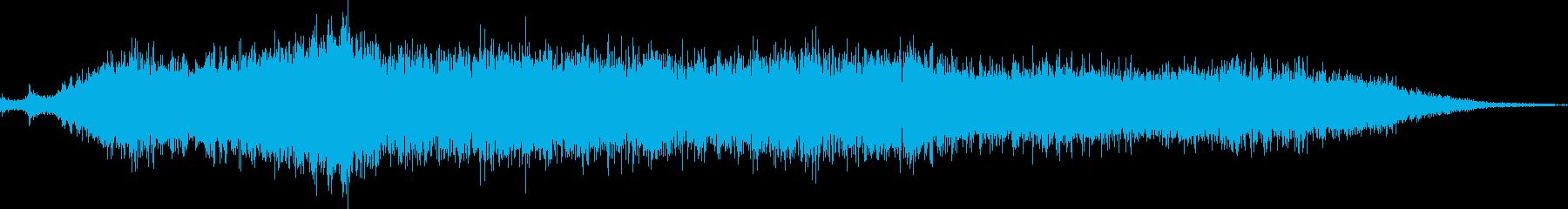 群衆ブー、うん、左と右、イントロ先生の再生済みの波形