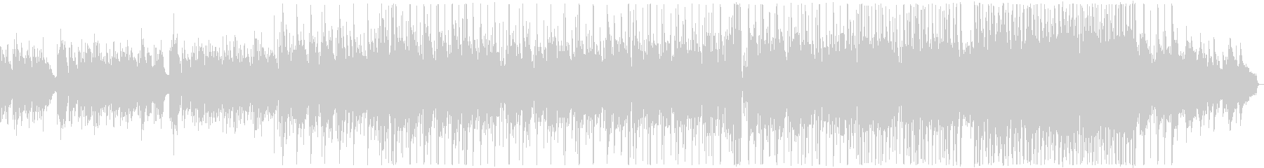 悲しい雰囲気のK-POP風バラード2の未再生の波形