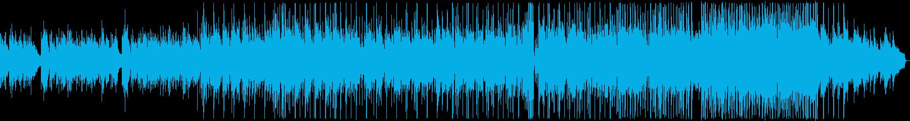 悲しい雰囲気のK-POP風バラード2の再生済みの波形