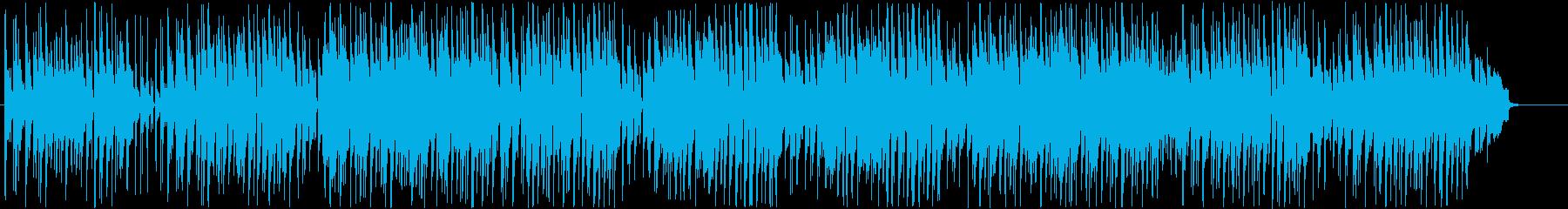 うきうき、ハッピーでポップなウクレレの再生済みの波形