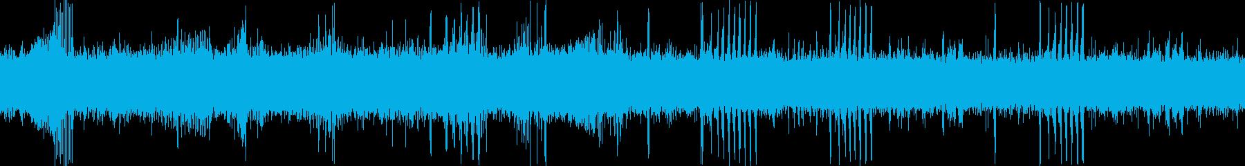 渓流(環境音)/カエルの再生済みの波形