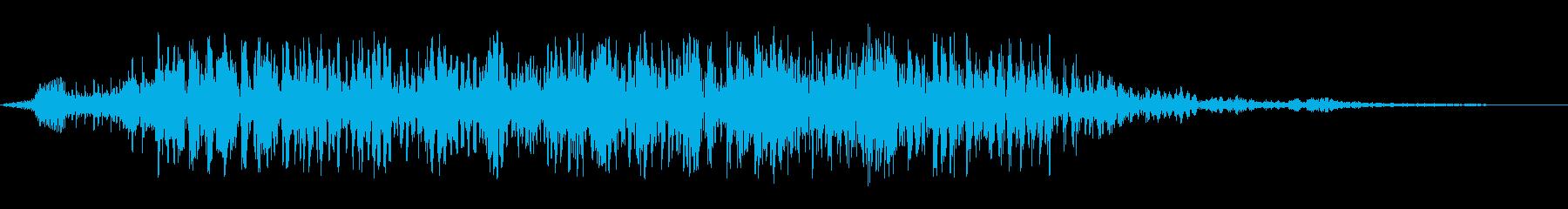 ゴロゴロ恐竜の再生済みの波形
