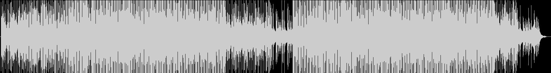 心地よく爽やかなマリンバのトロピカル楽曲の未再生の波形