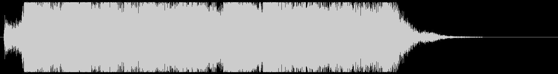 オープニングタイトル(バラエティ等)の未再生の波形