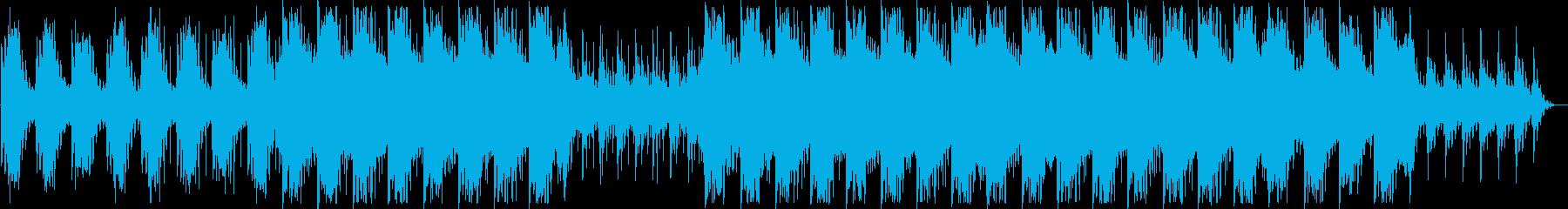 幻想的でダークなBGM ショートメロ無しの再生済みの波形