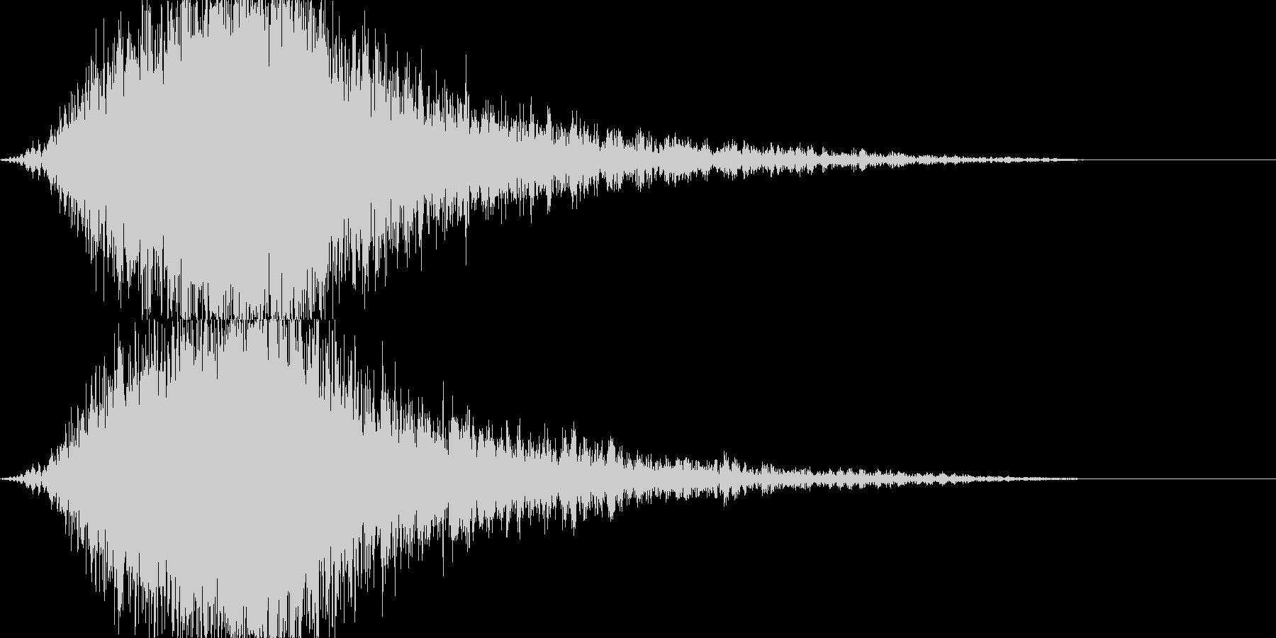 KANTcinemaRISER06081の未再生の波形