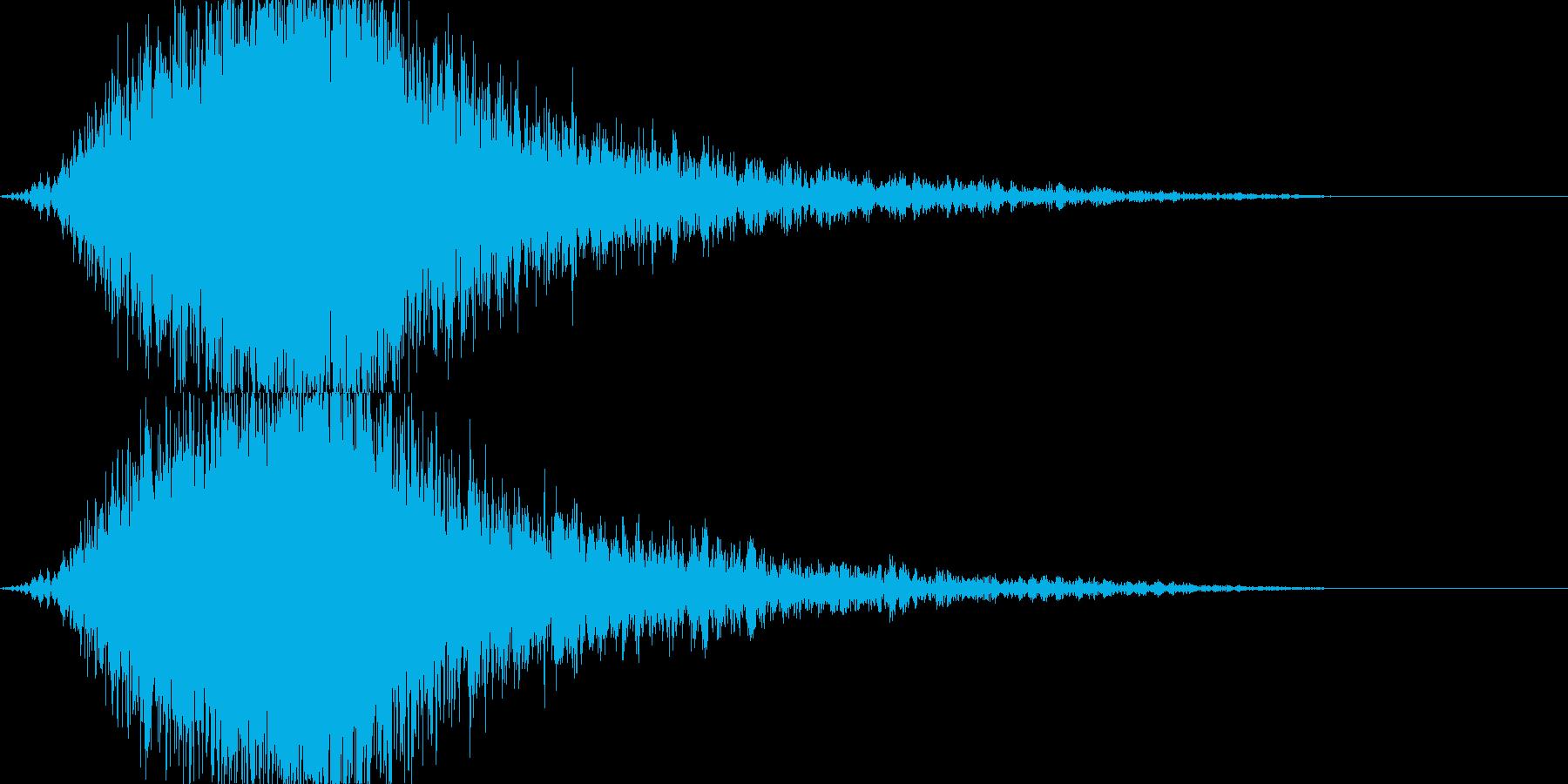 KANTcinemaRISER06081の再生済みの波形
