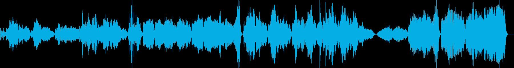 ハチャトゥリアン風のオーケストラワルツの再生済みの波形