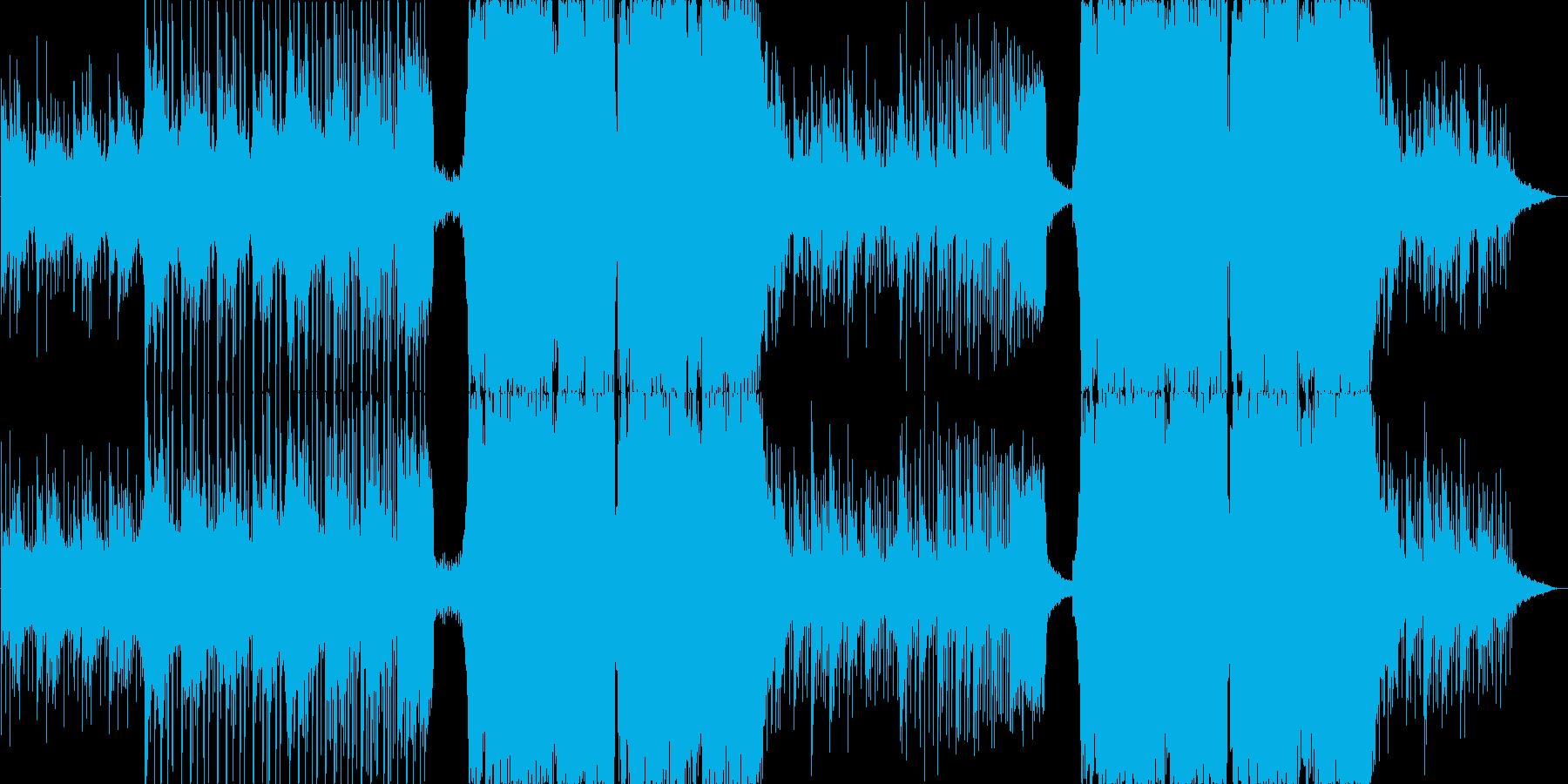 【BGM】Liquid Dubstepの再生済みの波形