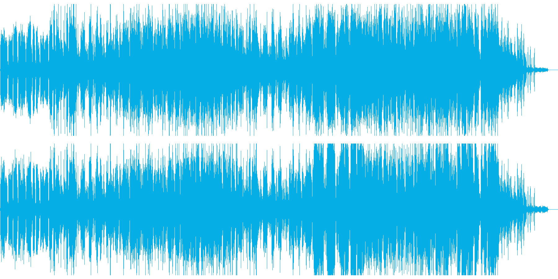 shab◎nが初めて手がけたオリジナルでの再生済みの波形