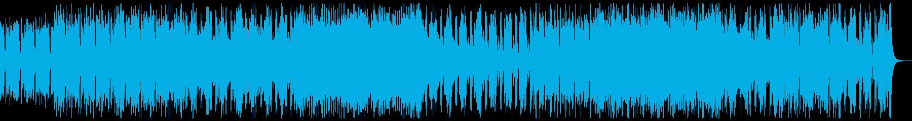 和楽器・和風・サムライヒーロー:フルx1の再生済みの波形